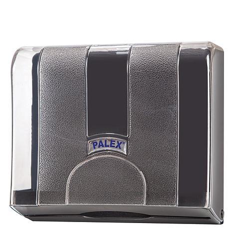 Диспенсер для полотенец Z укладки, прозрачный серый, фото 2