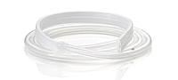 Дренаж круглый спиральный плоский рифленый стандартный с троакаром