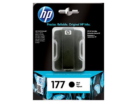 HP C8721HE Картридж черный, HP 177