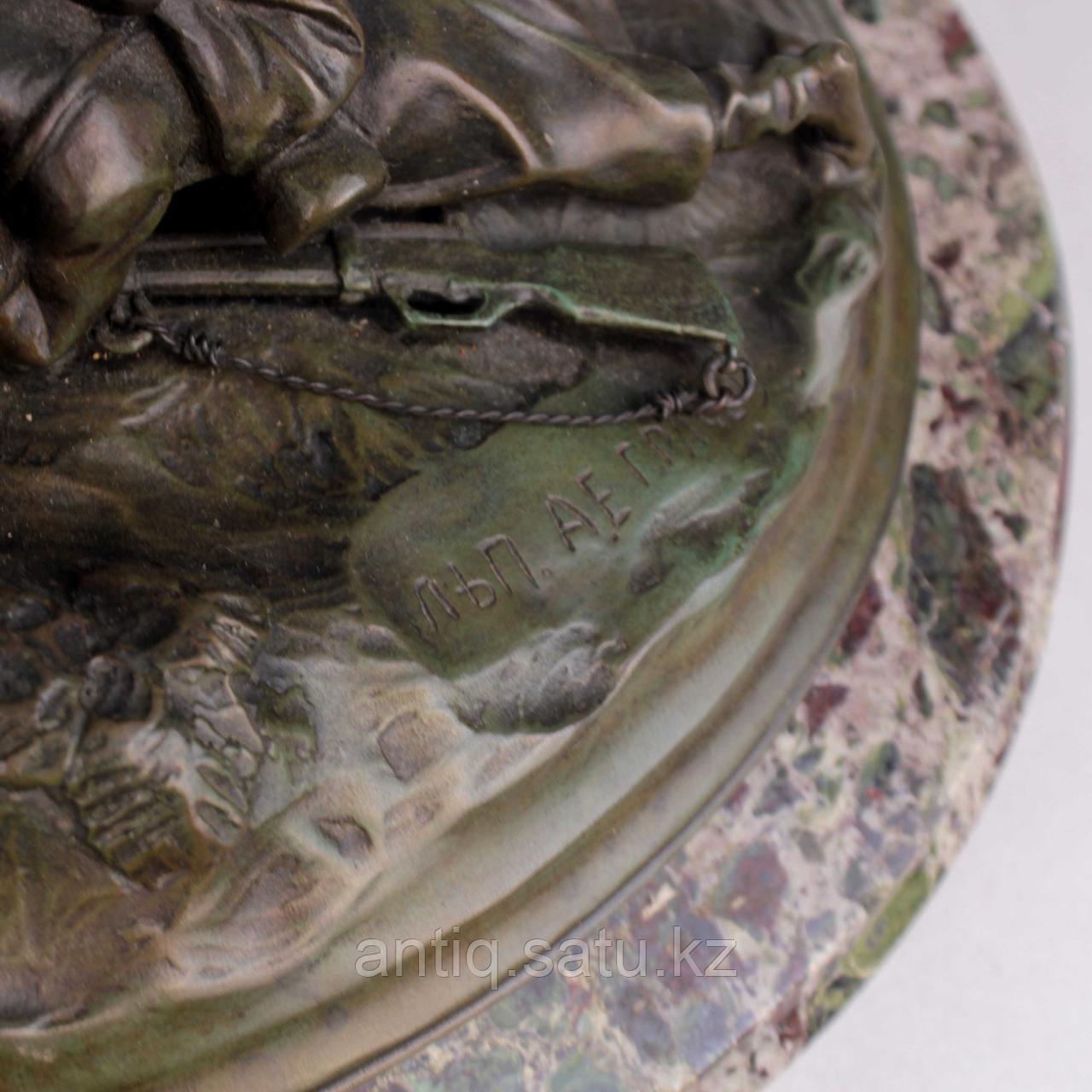 Черкес, заметивший врага. По модели российского скульптора В.Я. Грачева - фото 7