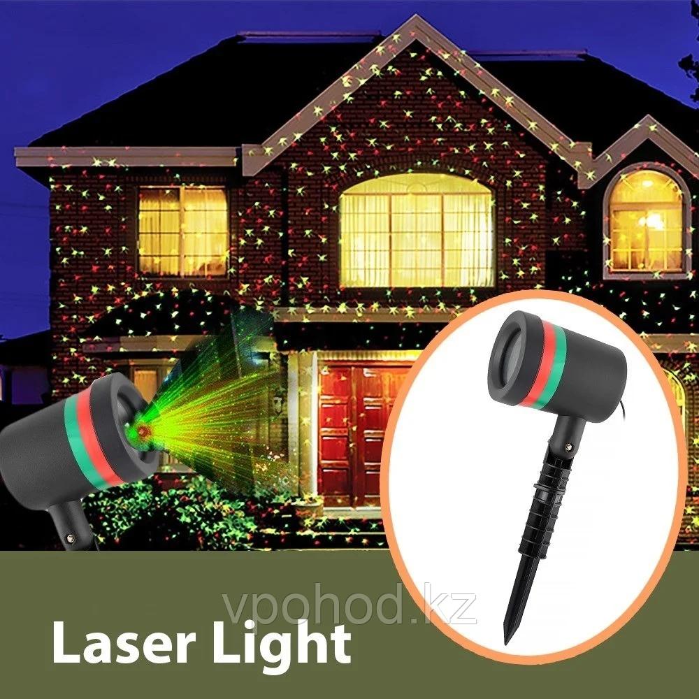 Лазерный проектор новогодний