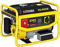 Бензиновый генератор STEHER GS-4500Е, 3300 Вт