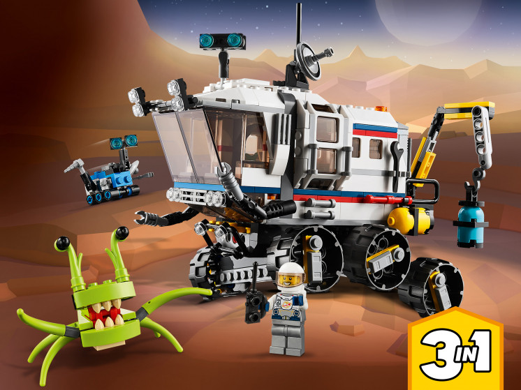 LEGO Creator 31107 Исследовательский планетоход, конструктор ЛЕГО - фото 1