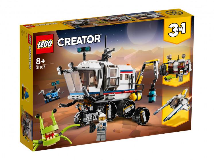 LEGO Creator 31107 Исследовательский планетоход, конструктор ЛЕГО - фото 2