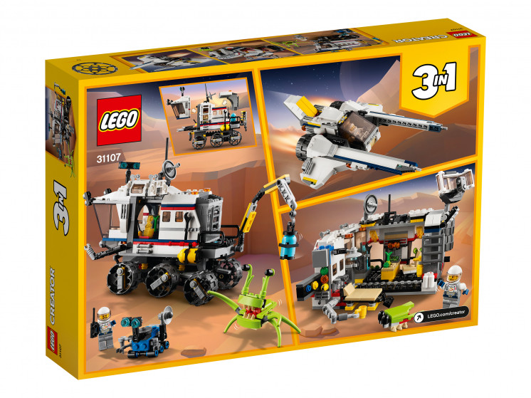 LEGO Creator 31107 Исследовательский планетоход, конструктор ЛЕГО - фото 4