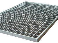Решетка стальная 394*594 (ребро 30х2)