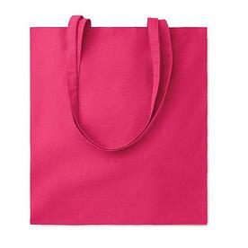 Хлопковая сумка шоппер, розовая