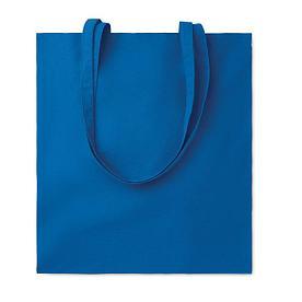 Хлопковая сумка шоппер, синяя