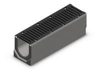 Лоток водоотводный бетонный SteePro DN150  кл. E 600  ( в сборе ) 3 варианта