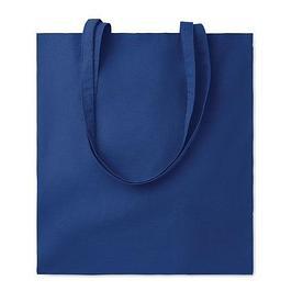Хлопковая сумка шоппер, темно-синяя