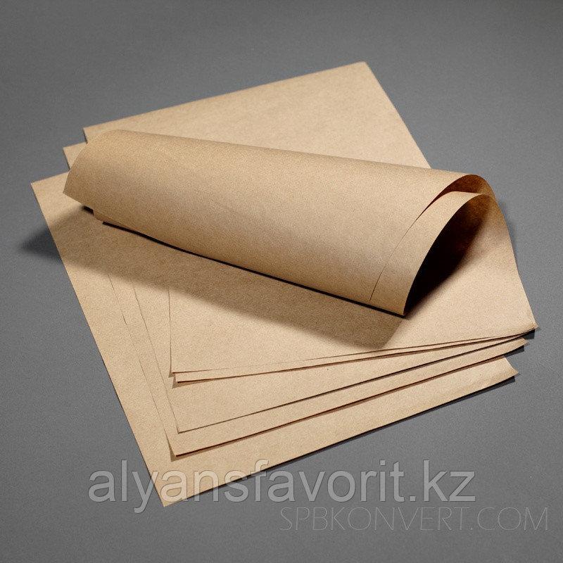 Бумага для выпечки крафт 40 см*60м TEXTOP. 500 листов.