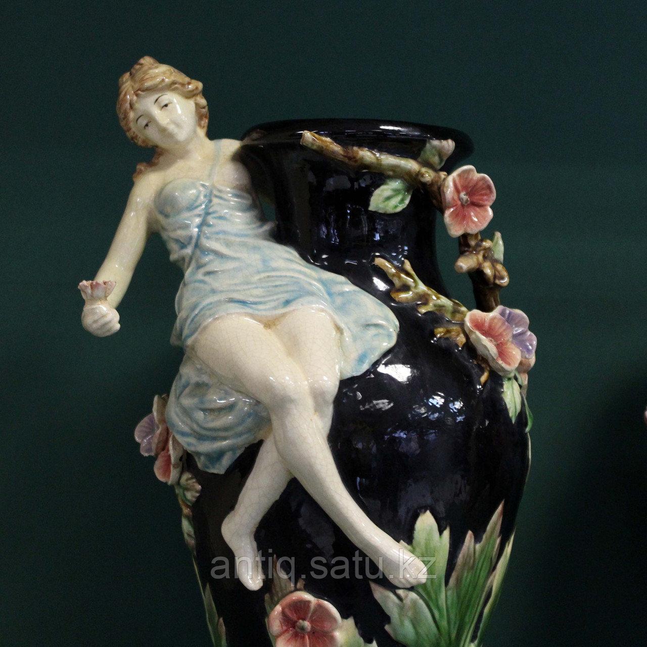 Парные вазы в стиле Барботин. ХХ век - фото 2