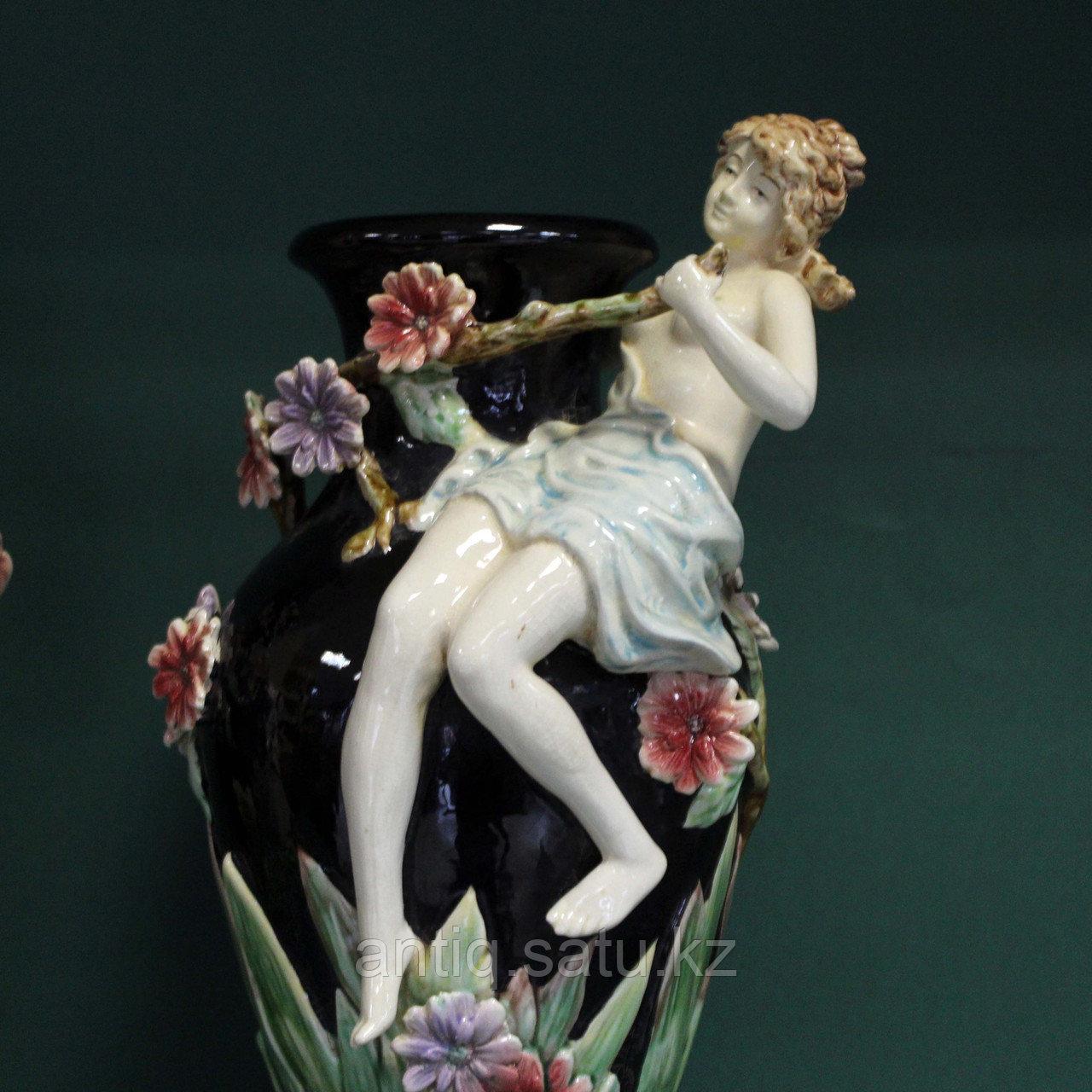 Парные вазы в стиле Барботин. ХХ век - фото 3