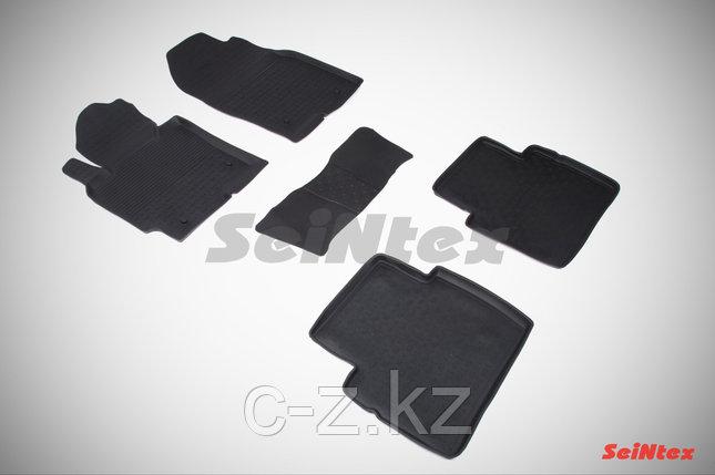 Резиновые коврики с высоким бортом для Mazda CX-5 2012-2017, фото 2