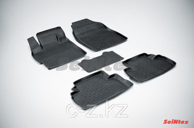 Резиновые коврики с высоким бортом для Mazda CX-7 2006-2012, фото 2