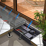 Внутрипольные конвекторы Techno  KVZV 250-85-1400.00.000 (вент.), фото 5