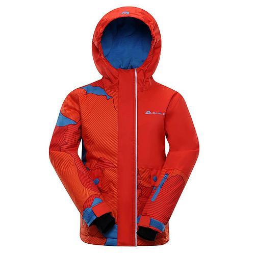 Лыжная куртка INTKO Оранжевый, 128-134