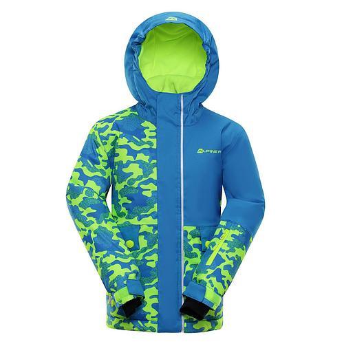 Лыжная куртка INTKO Синий, 116-122