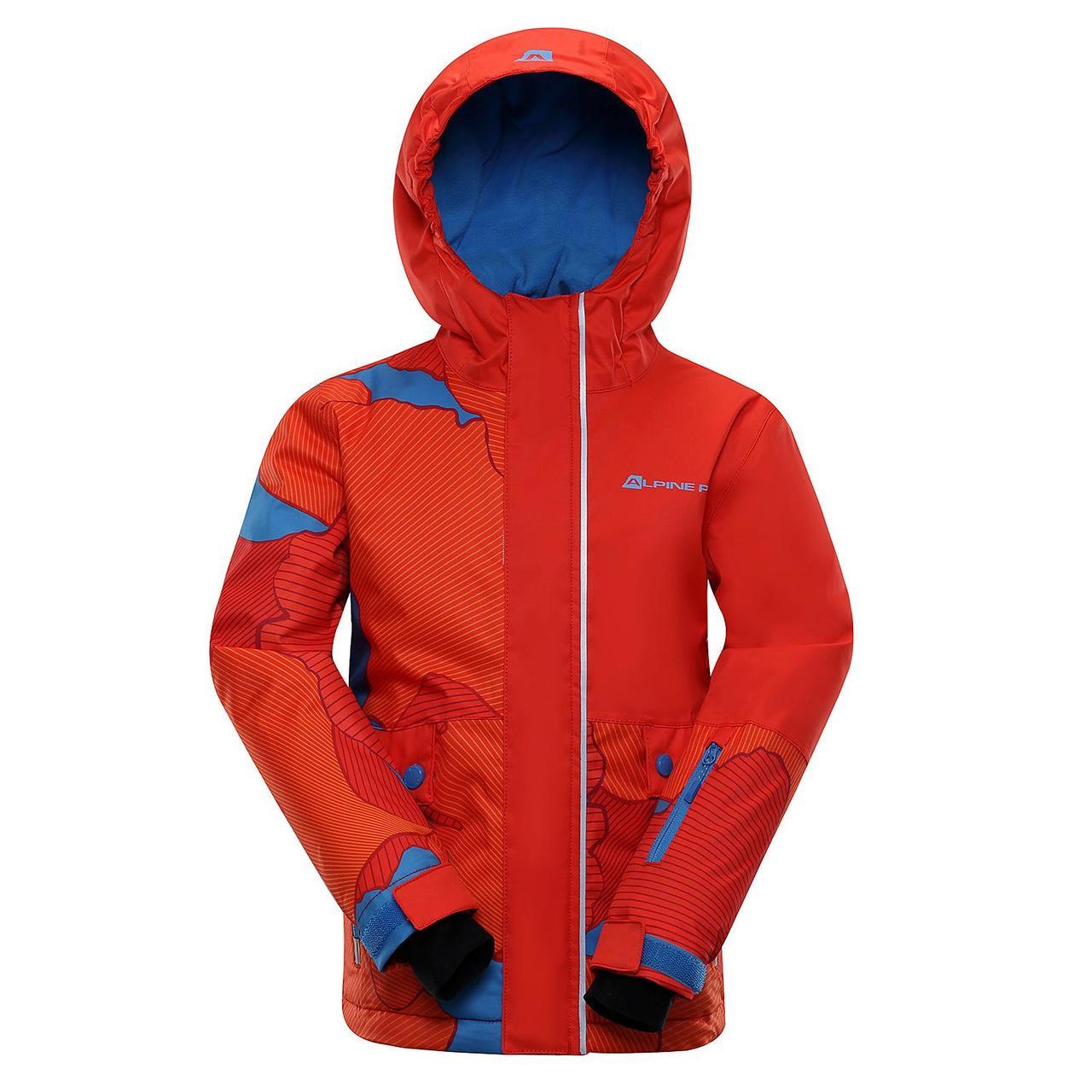 Лыжная куртка INTKO Оранжевый, 116-122 - фото 1