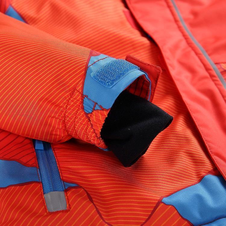 Лыжная куртка INTKO Оранжевый, 116-122 - фото 3