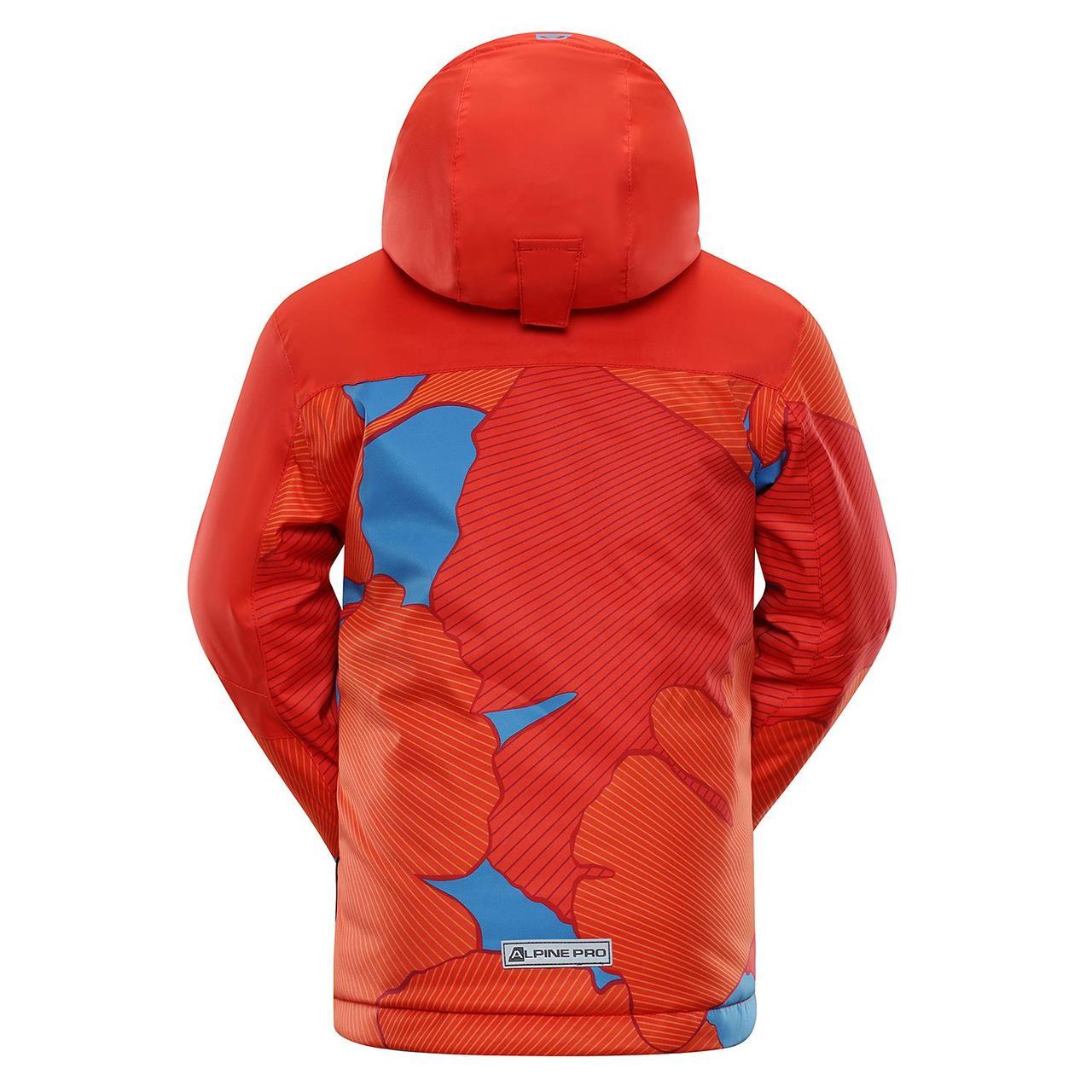 Лыжная куртка INTKO Оранжевый, 116-122 - фото 2