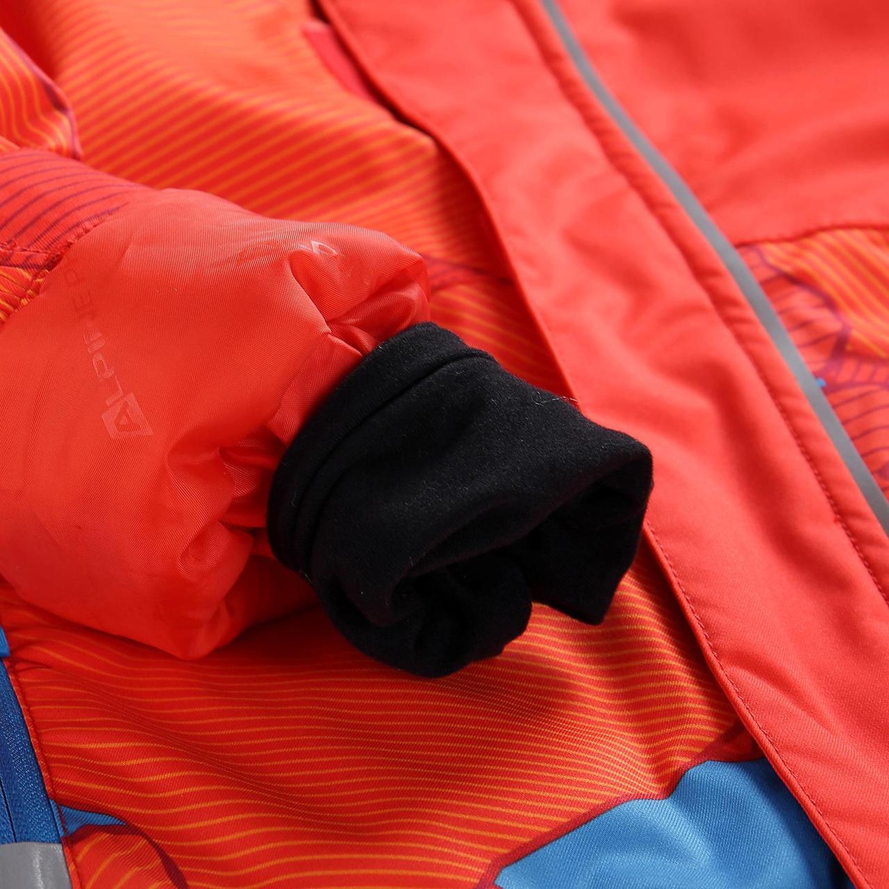 Лыжная куртка INTKO Оранжевый, 116-122 - фото 4