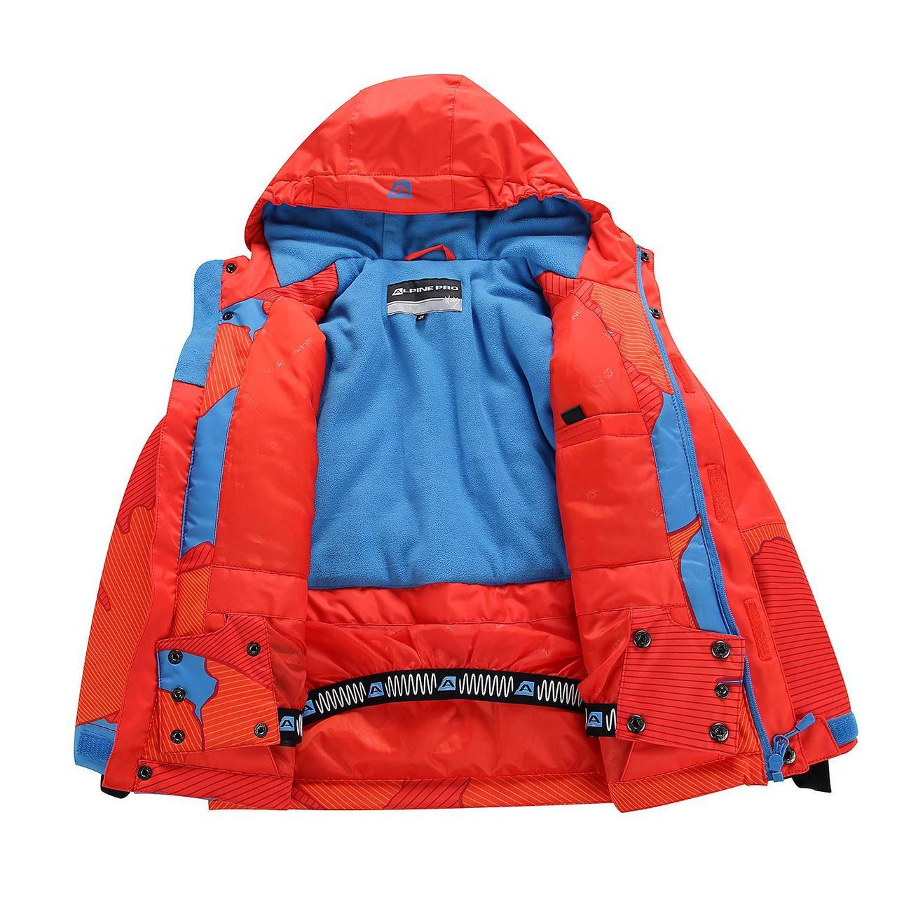 Лыжная куртка INTKO Оранжевый, 116-122 - фото 10