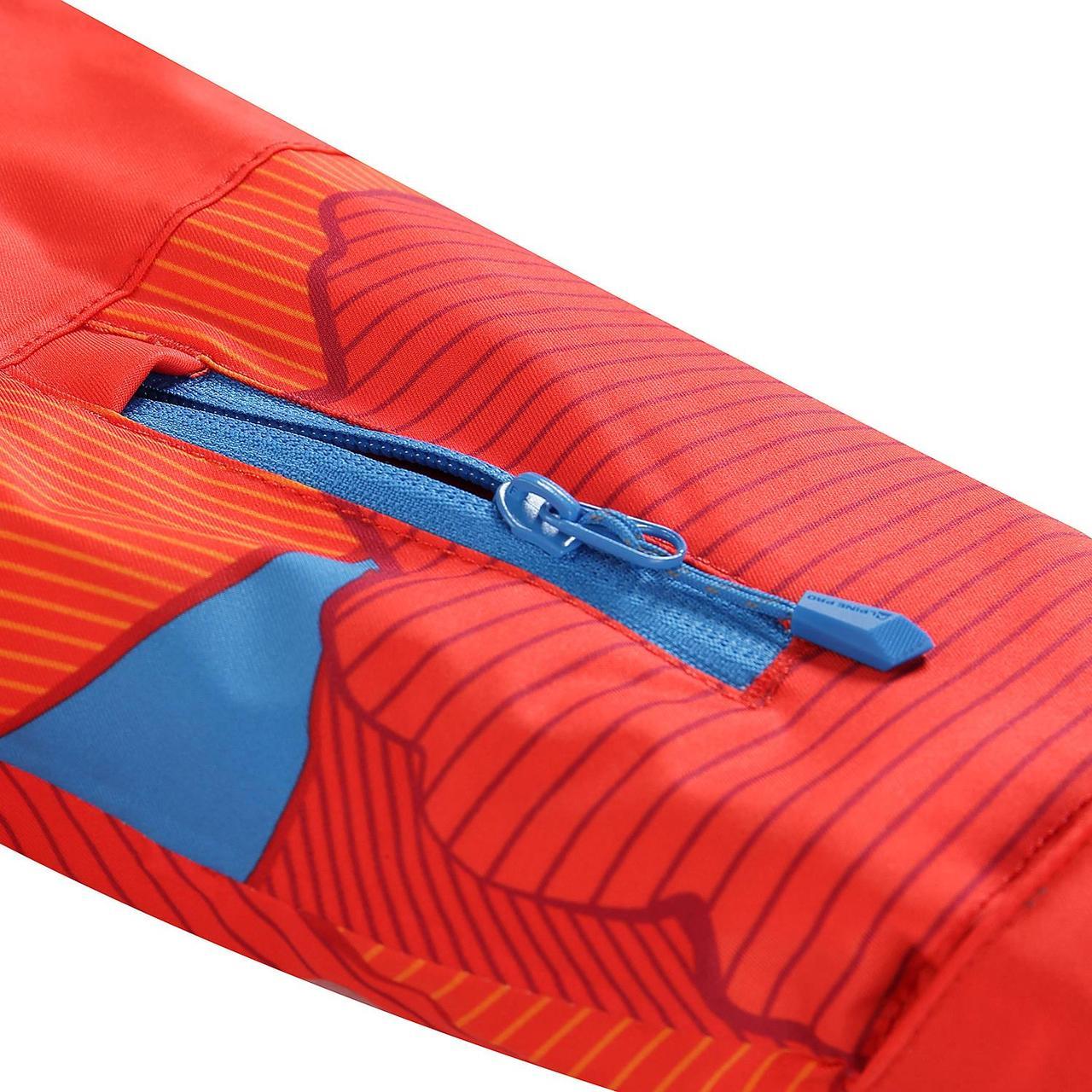 Лыжная куртка INTKO Оранжевый, 116-122 - фото 5