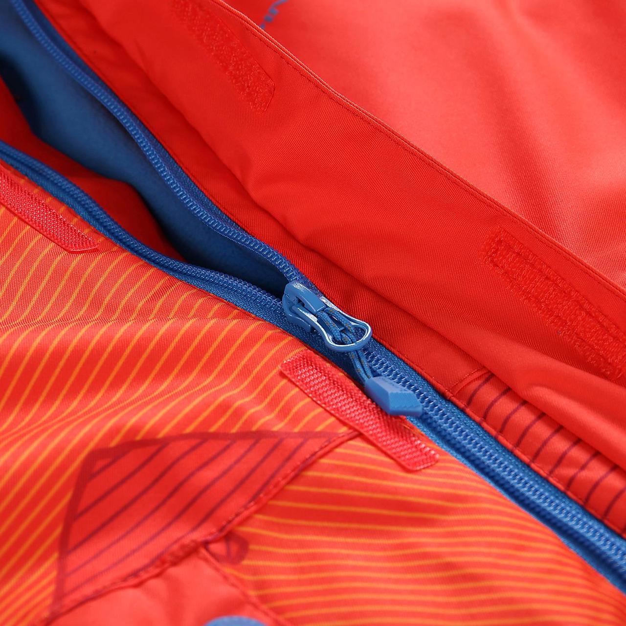 Лыжная куртка INTKO Оранжевый, 116-122 - фото 8