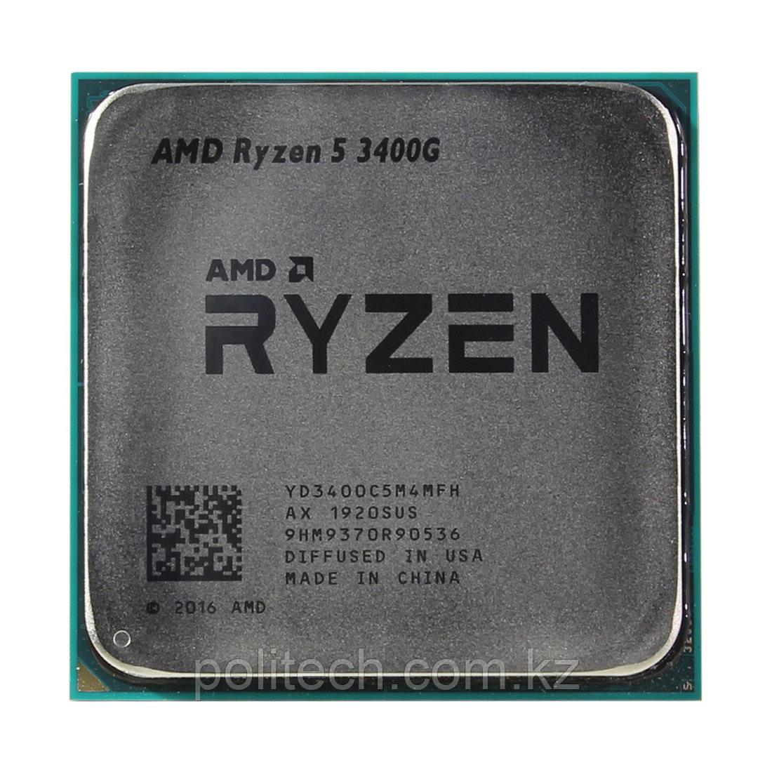 Процессор AMD AM4 Ryzen 5 3400G