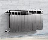 Радиатор биметаллический Royal Thermo Biliner 500/90 серебро выпуклый (РОССИЯ), фото 4