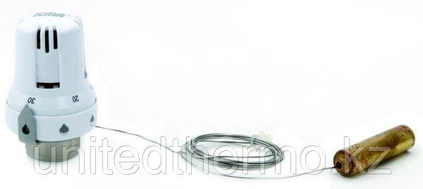 Термостатическая головка ICMA (Артикул 995) резьба 30*1.5 с погружным датчиком