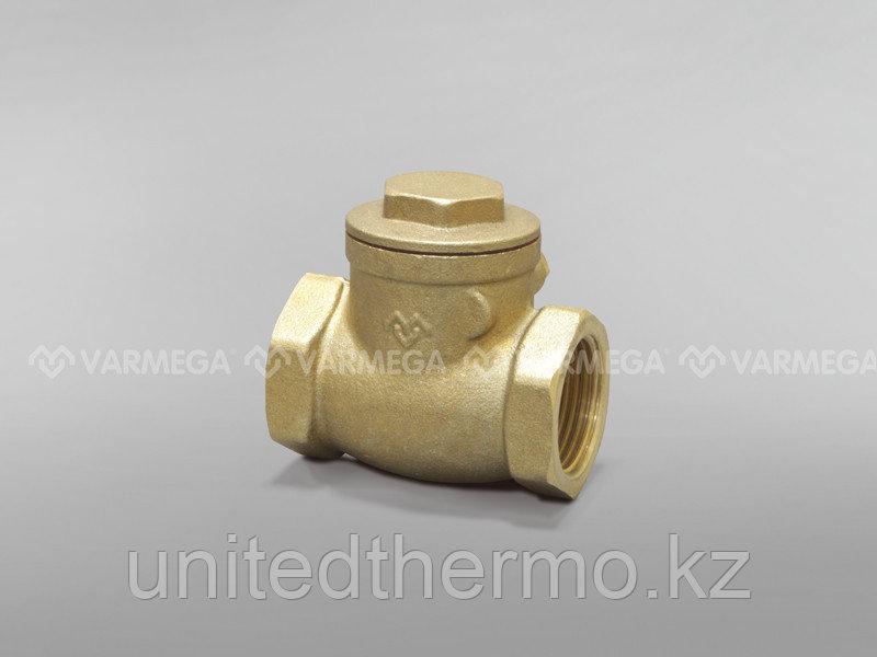 """Горизонтальный обратный клапан с металлическим уплотнением Varmega 1/2"""""""