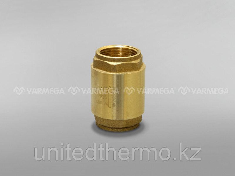 """Обратный клапан Varmega Classico с латунным диском 1"""""""