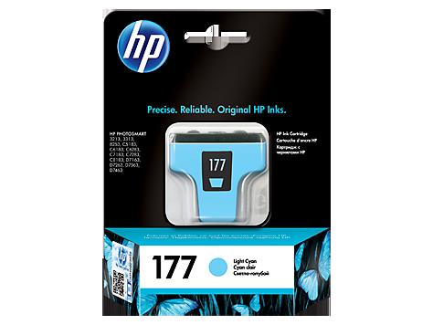 HP C8774HE Картридж светло-голубой, 177