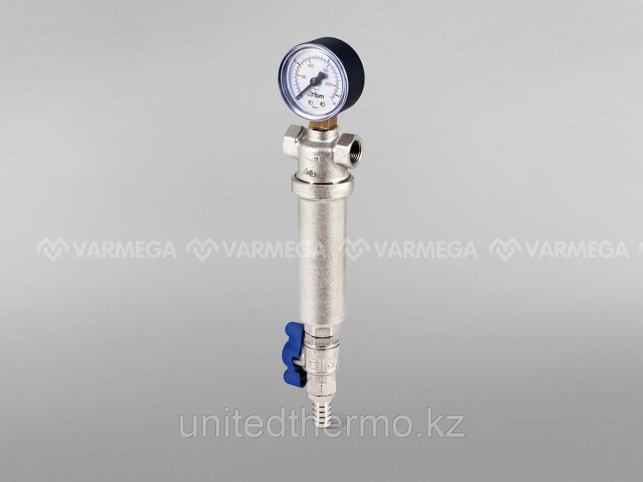 """Самопромывной фильтр RBM (Италия) 1 1/4"""" В/В"""