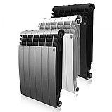 Радиатор биметаллический Royal Thermo Biliner 500/90 черный выпуклый (РОССИЯ), фото 2