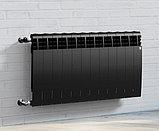 Радиатор биметаллический Royal Thermo Biliner 500/90 черный выпуклый (РОССИЯ), фото 3