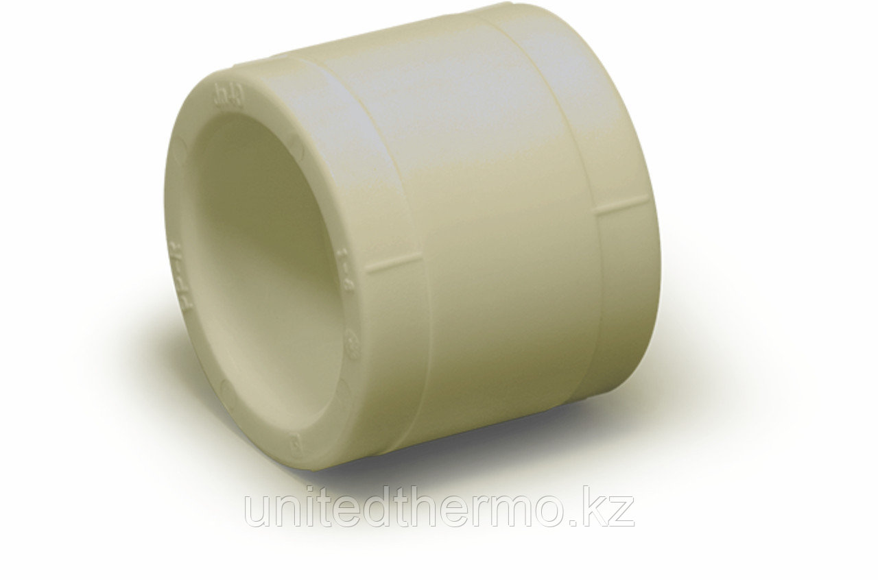 Муфта равносторонняя 25 мм Fusitek (СЕРАЯ)