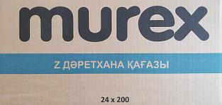 Туалетная бумага Z-укладки MUREX (листовая туалетная бумага), 200 листов