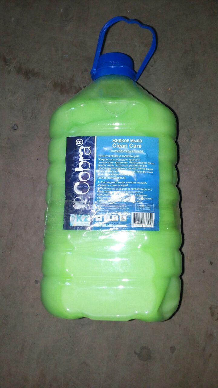 Жидкое мыло, 5кг (пр-ва Казахстан)