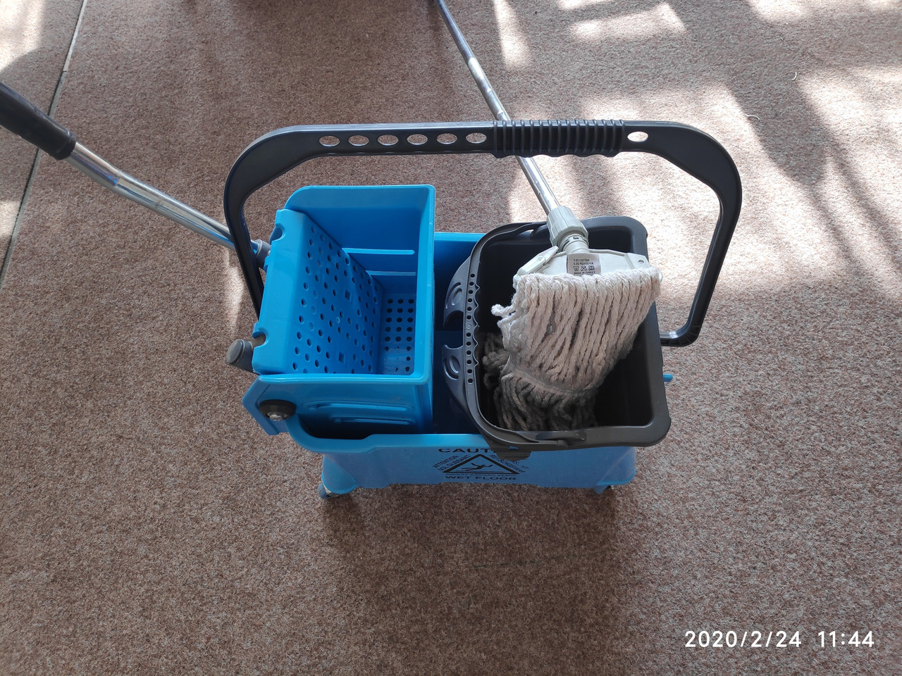 Тележка для уборки полный комплект (для клининга)