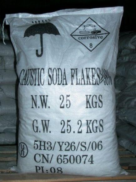Каустическая сода, 25кг. Производство Китай, Алматы, Казахстан