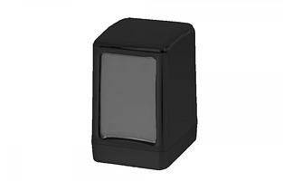 Диспенсер для настольных салфеток Wespa, черного цвет (эконом класс)