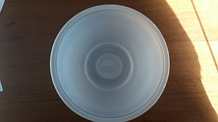 Тарелка пластиковая суповая (без крышки), 500мл