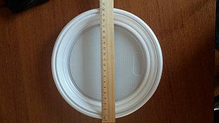 Тарелка пластиковая круглая, 20,5 см диаметр