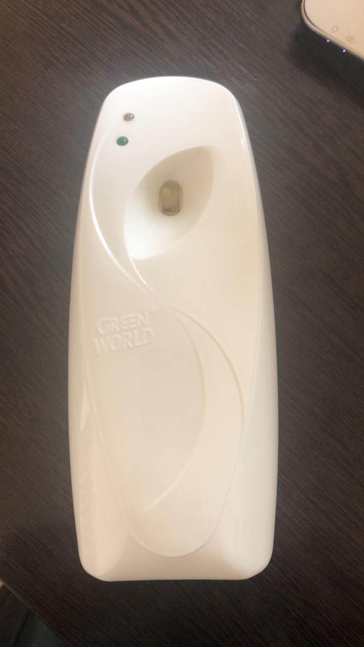 Распылитель автоматический для освежителя воздуха (диспенсер) + 1 баллончик