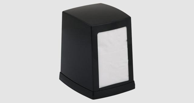 Диспенсер для настольных салфеток Vialli чёрного цвета (Турция)