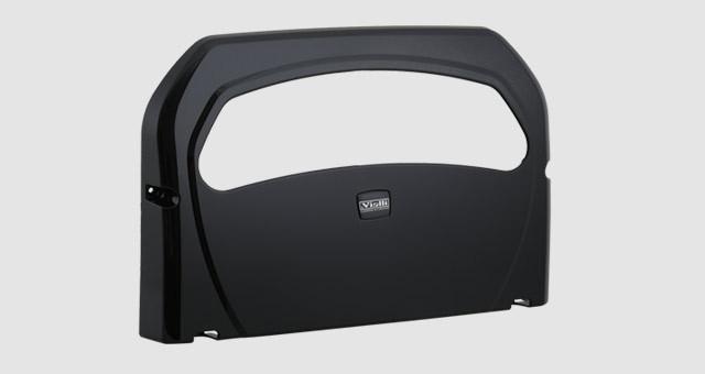 Диспенсер (держатель) для гигиенической бумаги для крышки унитаза Vialli K7B, чёрного цвета