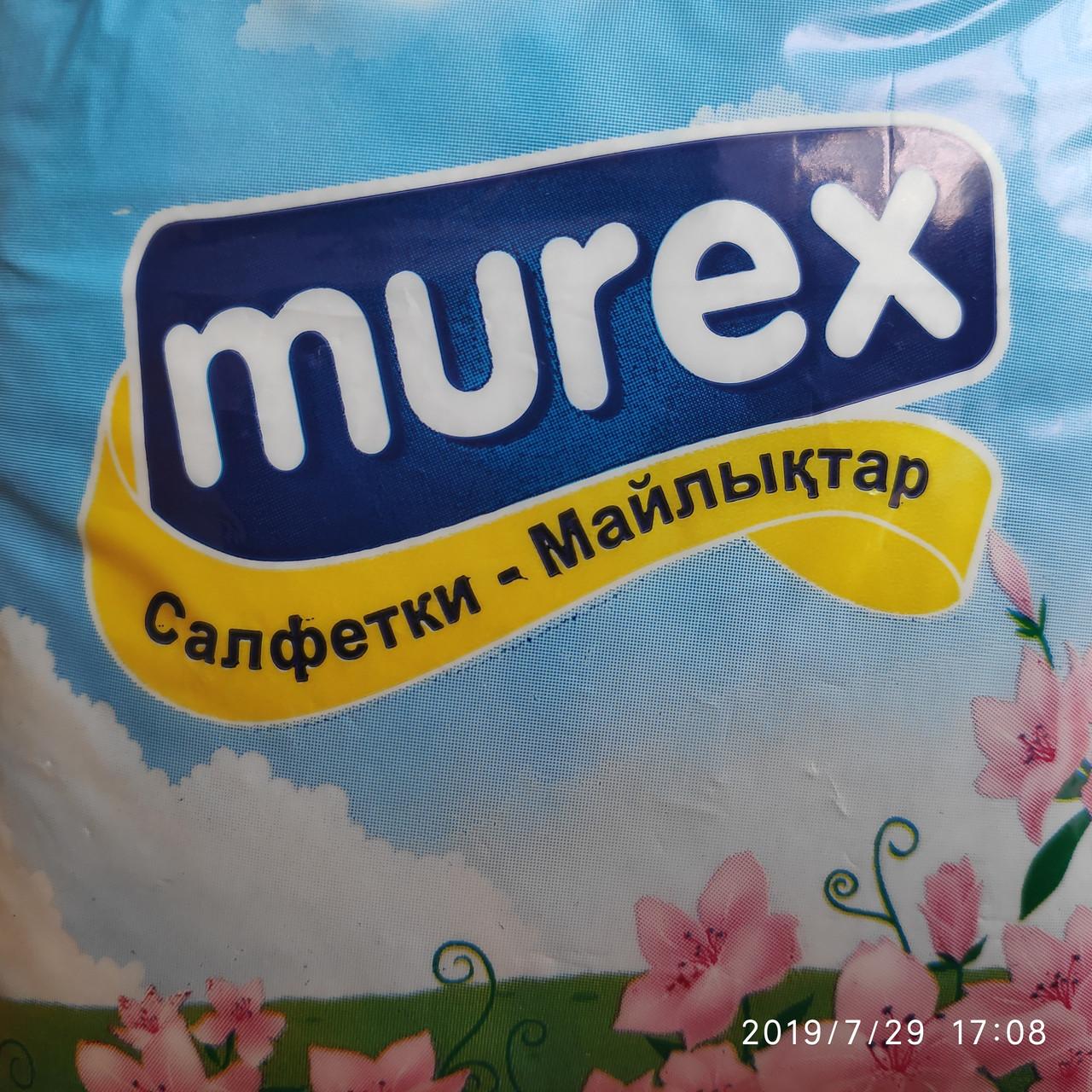 """Салфетки настольные бытовые """"Murex"""" Стандарт, 100 листов"""